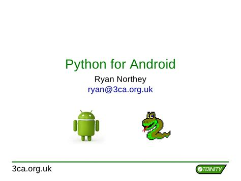 python for android python for android