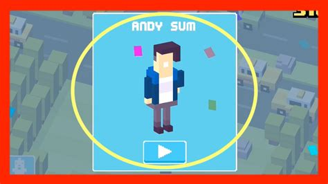 how ti get bill in crossy road unlock andy sum crossy road new mystery character