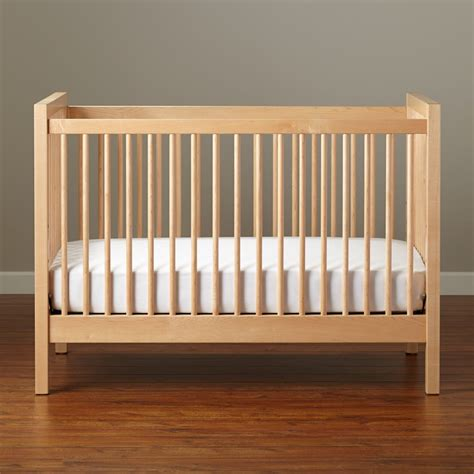 Organic Baby Crib Baby Cribs Convertible Cribs The Land Of Nod