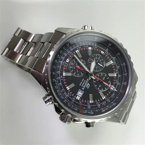 mens casio ef  av edifice chronograph