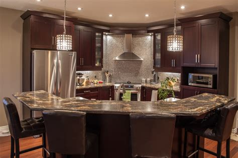 Kitchen Island Toronto Hansen Contemporary Kitchen Toronto By Allen Interiors Design Center Inc