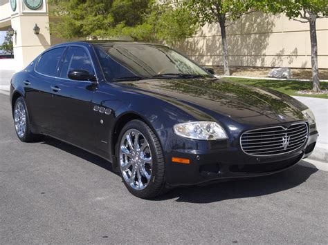 maserati black 4 door 2007 maserati quattroporte 4 door sedan barrett jackson