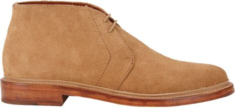 duckie brown suede chukka boots in brown for