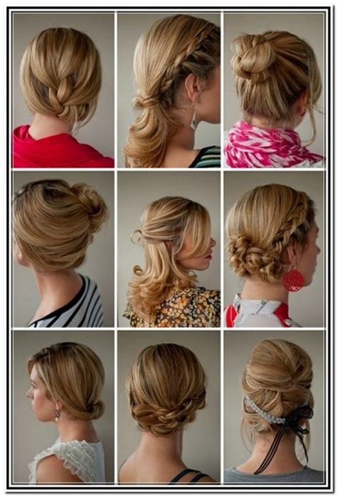 Hairstyles For Medium Hair Tutorials by Shoulder Length Hair Updos Tutorials Foto