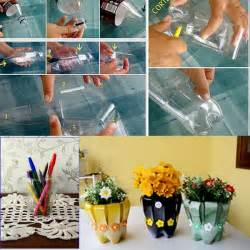 Diy plastic bottles flower vase smiuchin