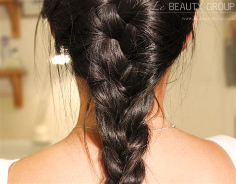 braided hairstyles layered hair hairstyle messy french plait braid on layered hair
