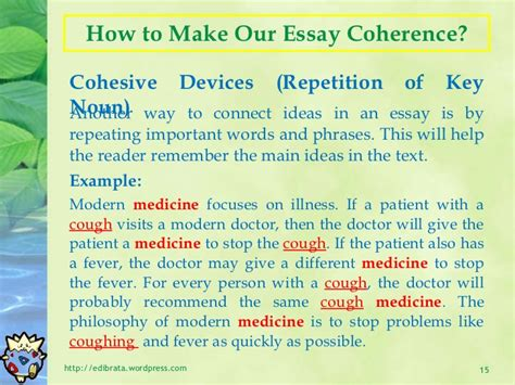 Cohesive Essay by Cohesive Paragraph And Cohesive Essay Carrentaldavao X Fc2