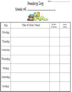 Mileage Report Template 1000 ideas about reading logs on pinterest independent