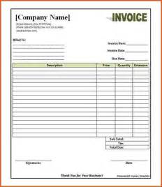 Commercial Invoice Template Word Doc 10 Commercial Invoice Format In Word Denial Letter Sample