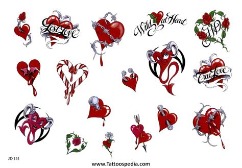 small broken heart tattoos tattoos