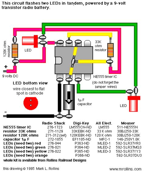 Lu Bohlam Senter Mini 2 5 Volt led flasher with ic 555 circuit yan permadi