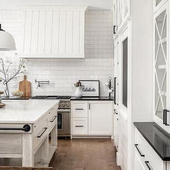 Vertical Shiplap Kitchen Hood   Cottage   Kitchen