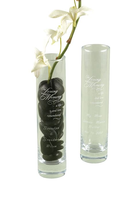 Memory Vase by In Loving Memory Bud Vase