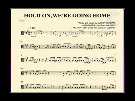 viola hold on we re going home sheet
