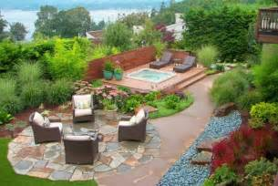 landscaping ideas for front yard backyard