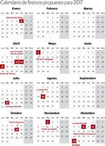 Calendario 2018 Baleares Calendario Laboral 2017 Festivos Y Puentes Elcorreo