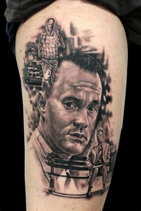 forrest gump portrait tom hanks by jhon gutti tattoos