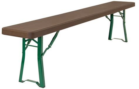 collapsible bench beer folding bench 220x30cm for events
