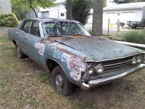 68 Ford Fairlane by Sell Used 68 Ford Fairlane Parts Car In Pasadena Maryland