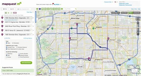 printable map route planner mapquest trip planner image search results