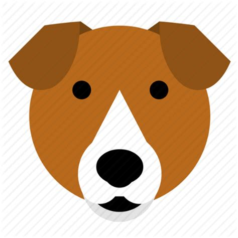 beagle dog face happy pet smile terrier icon