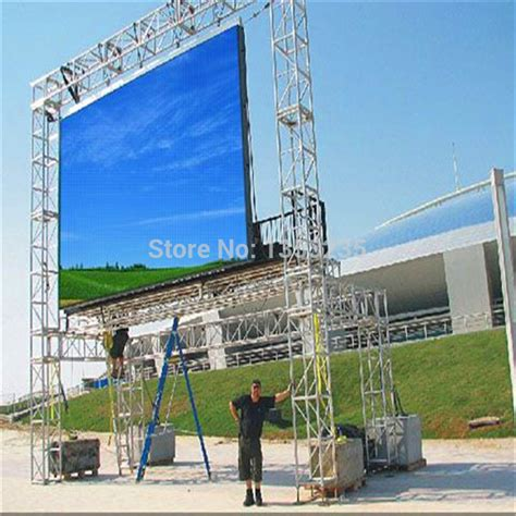 Sewa Led Display Indoor Outdoor set of rgb p10 outdoor led screen high resolution