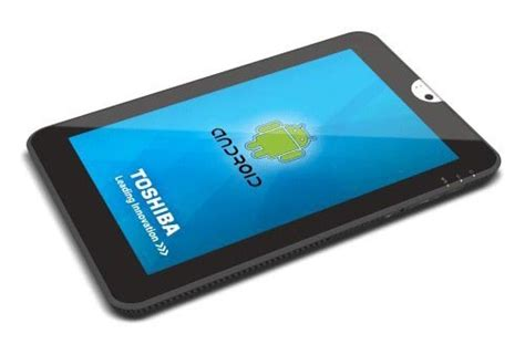 Tablet Toshiba Android toshiba 10 1 inch android tablet gadgetsin