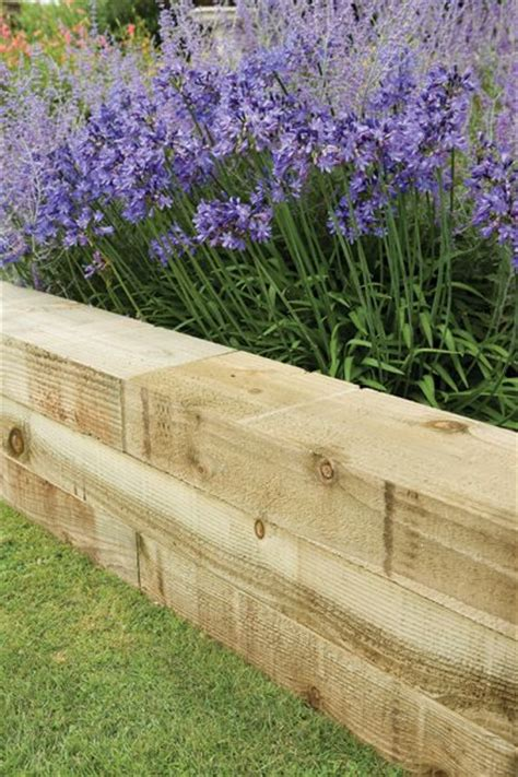 Landscape Timbers Border Landscape Edging Ideas That Create Curb Appeal