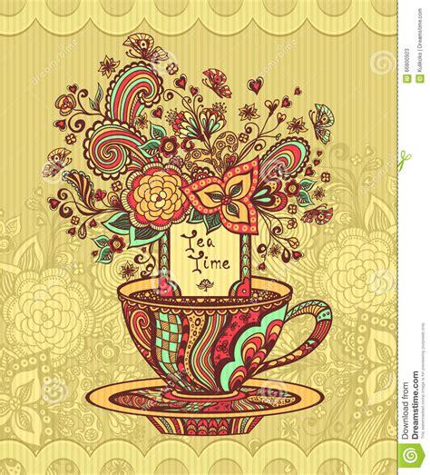 doodlebug florist byron ga taza zen garabato de t 233 con verde amarillo rojo de las
