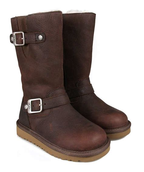 ugg s kensington leather boots designer footwear