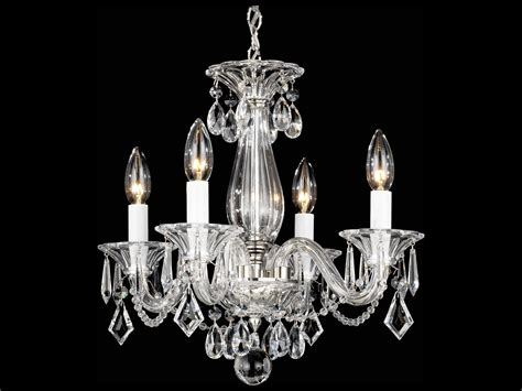 Schonbek Mini Chandelier Schonbek Allegro Five Light 15 Wide Mini Chandelier S56995