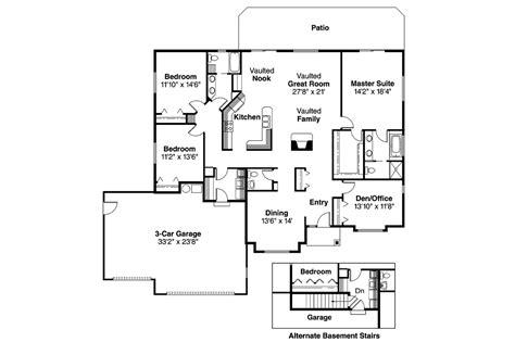 Traditional House Floor Plans Traditional House Plans Clarkston 30 080 Associated