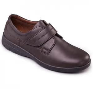 padders air mens luxury soft leather velcro casual comfy