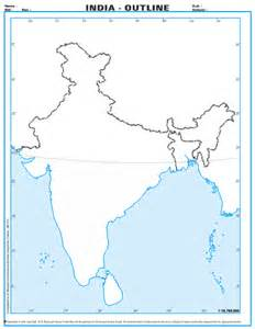 India Physical Map Outline In A4 Size by Pin A4 Size Map Of Australia In Colour Showing Capital Cities State On