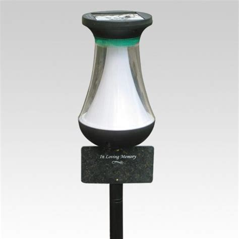 Pin By Memorials Com On Monuments Cremation Memorials Grave Solar Lights