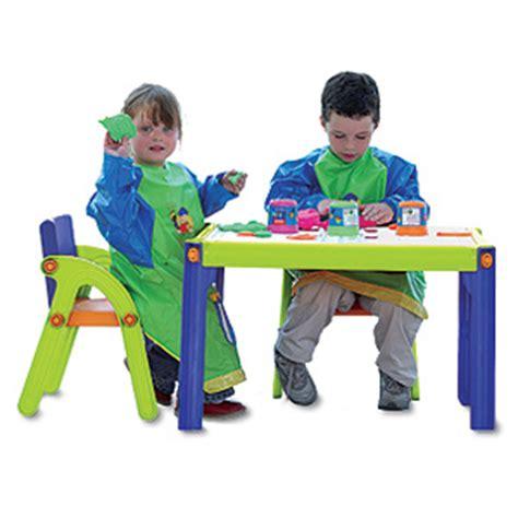 mesa con sillas infantiles mesa 2 sillas infantil bureau expression duo