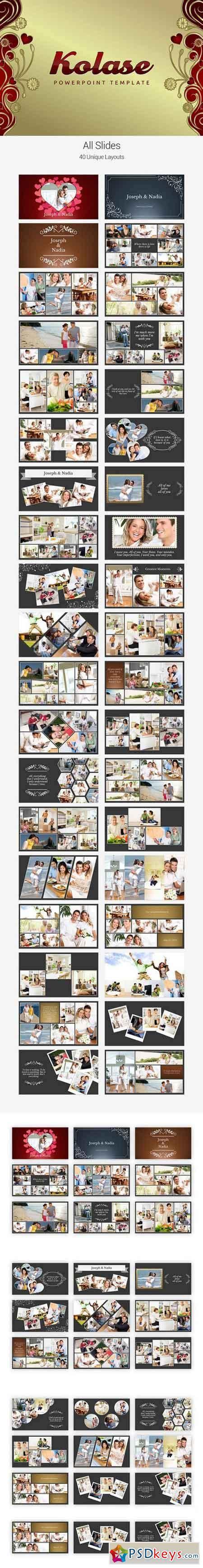 template photoshop kolase kolase powerpoint template 709837 187 free download