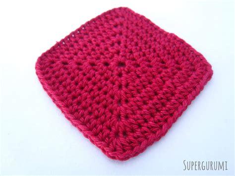 pattern crochet squares square crochet coaster pattern supergurumi