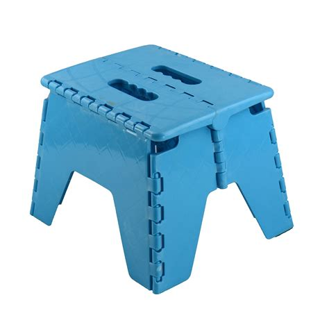 Step Stool Foldable by New Plastic Multi Purpose Folding Step Stool Home Kitchen