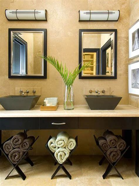 Creative Ideas For Small Bathrooms by 20 Creative Bathroom Towel Storage Ideas