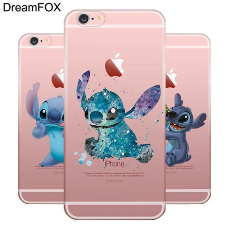 dreamfox  lilo  stitch soft tpu silicone case cover  apple iphone  xr xs max