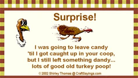 printable turkey poop poem turkey legend from craftsayings com