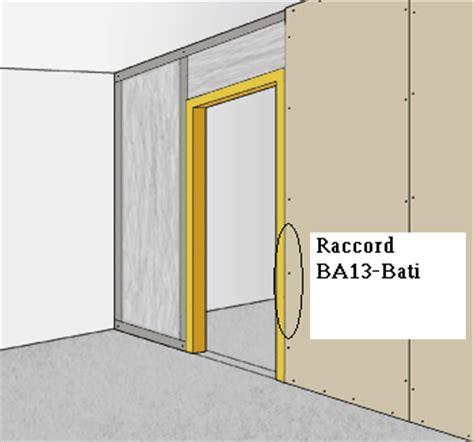 Monter Une Cloison En Ba13 5003 by Poser 1 Bloc Porte Dans Une Cloison Sur Rails Metalliques