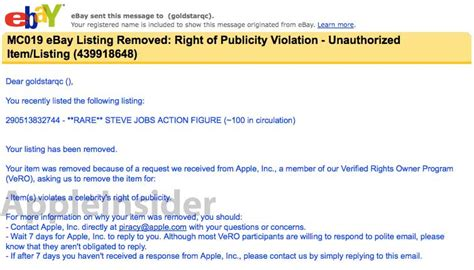 california civil code section 3344 apple legal not amused by steve jobs figurine halts