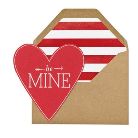be mine valentines quot be mine quot card haute holidays