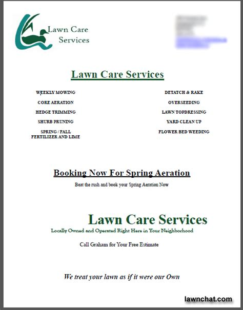 lawn mowing contract sample dtk templates