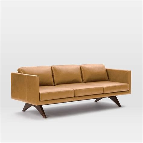 spray for leather sofa leather sofa 81 quot west elm