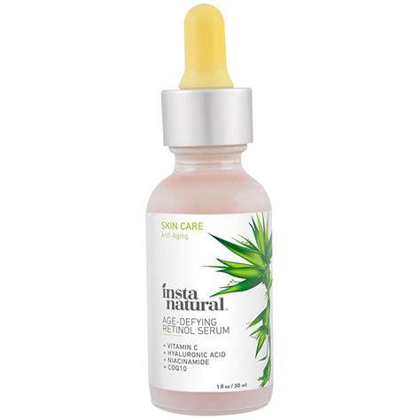 Serum Vitamin C Rossa instanatural retinol vitamin a serum with hyaluronic acid