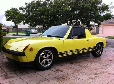 porsche 914 yellow find used 1972 porsche 914 yellow stock looking