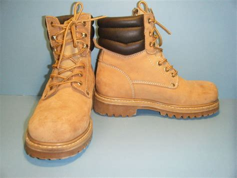 sears mens shoes and boots sears steel toe work boots s size 7m ebay